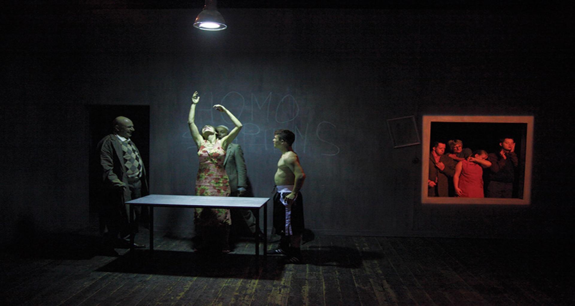 """Ai Cantieri Koreja """"Il Ballo"""" una visione delicata e poetica della vulnerabilit umana"""
